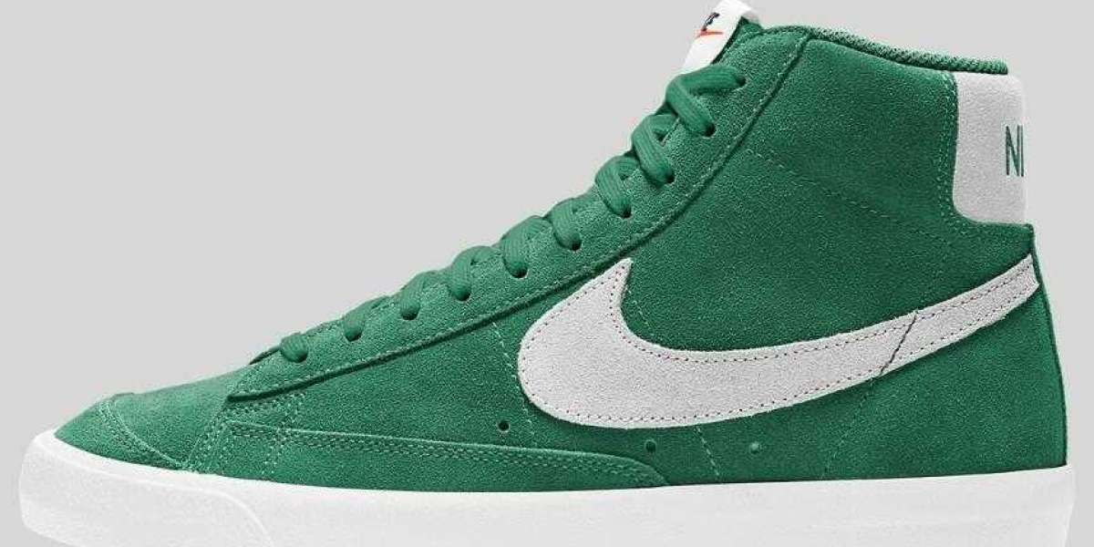 "New Released Nike Blazer Mid '77 Suede ""Pine Green"" for Online Sale"