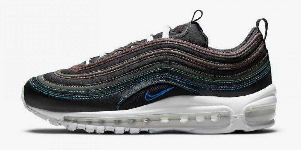 Men Women Nike Air Max 97 Get Covered in Multi Stitching