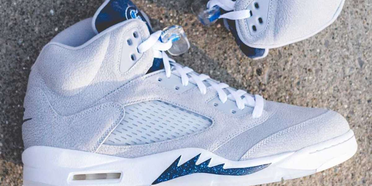 Georgetown completes the Air Jordan 5 PE Set for Spring 2021