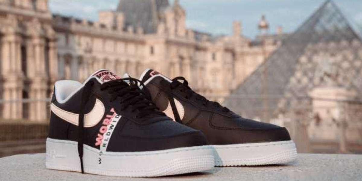 "Where To Buy Nike Air Force 1 ""Worldwide"" CK6924-001 ?"